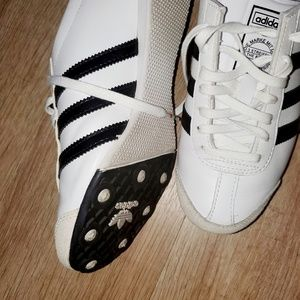 Adidas Shoes -Aditrack White/Black